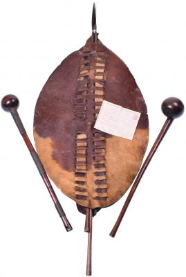picture of The Mick Woodfield Collection of Zulu Weaponry and Tribal Items