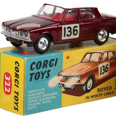 Vintage & Collectible Toys One Owner Private Collection of Diecast Models Online Webcast and Postal Auction